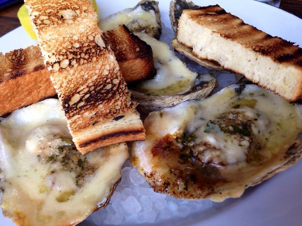 Leon's of Charleston grilled oysters