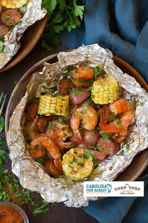 grilled shrimp recipe from the Carolina Meat & Fish Co