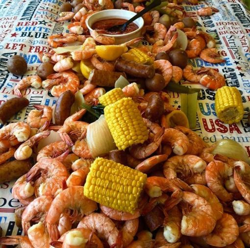 Low Country Boil to Go for Tailgating at Panther Games