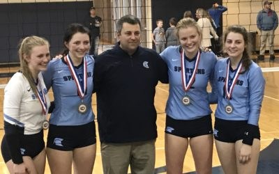 Four Earn All State Honors in Volleyball