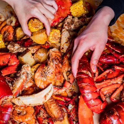 Spicy Seafood Bag Charlotte NC