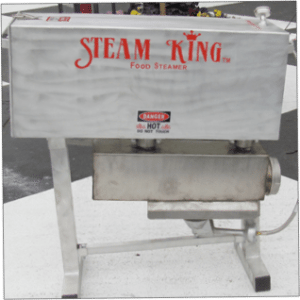 Steam King Food Steamer Charlotte NC available at the Carolina Meat & Fish Co