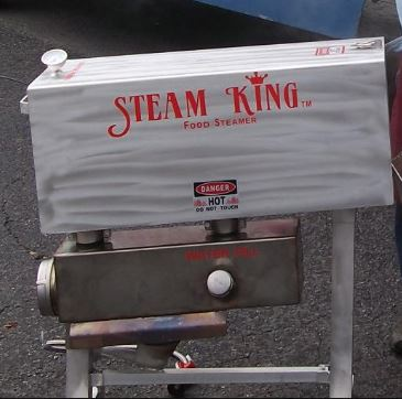 Buy Our Commercial Steamer for Low Country Boils and Oyster Roasts