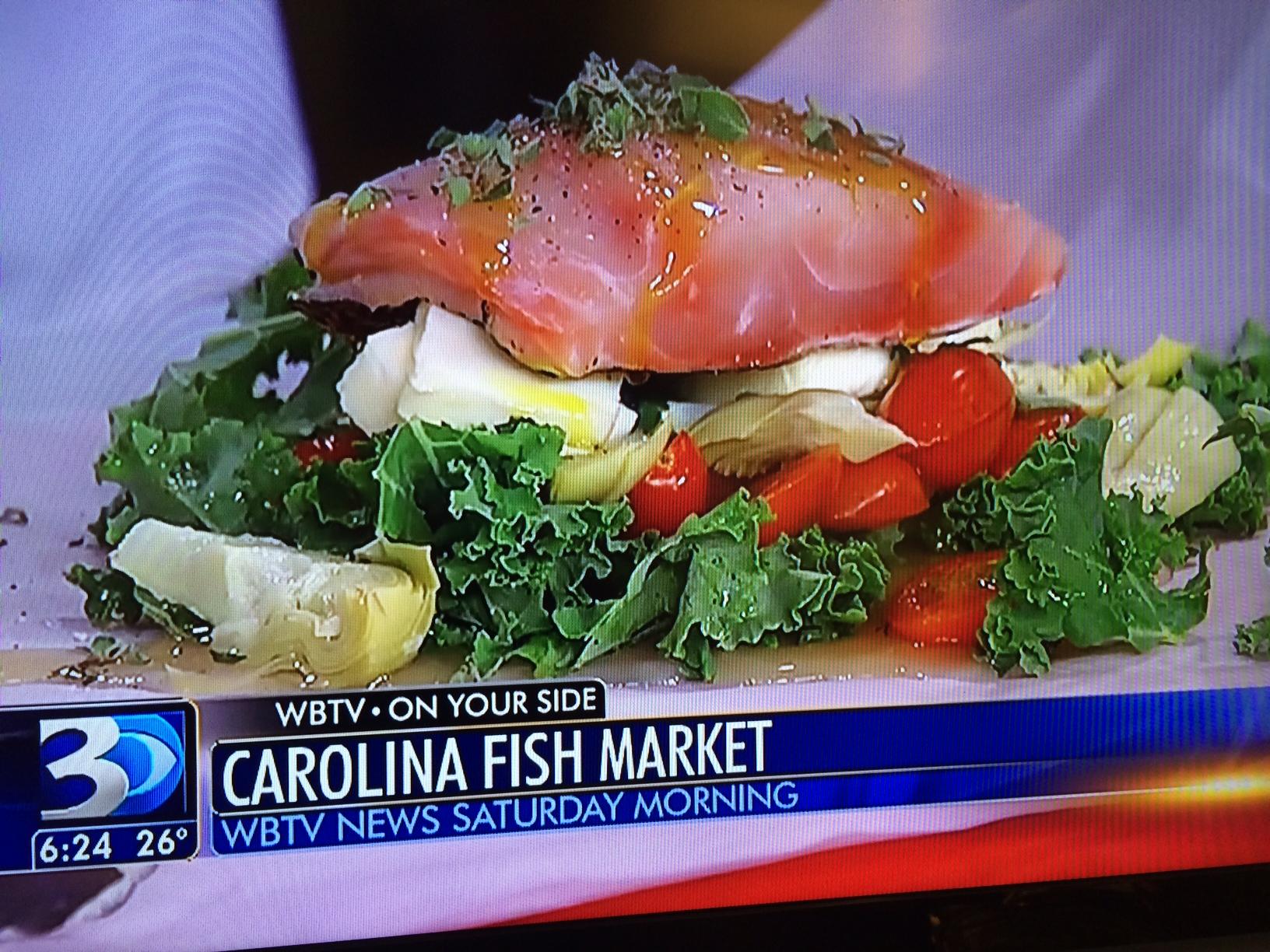 WBTV Golden Tilefish Recipe