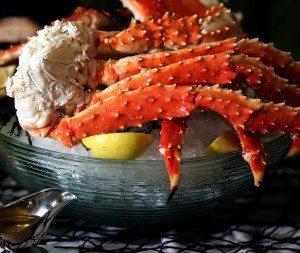 Alaskan King Crab at the Carolina Fish Market in Charlotte NC