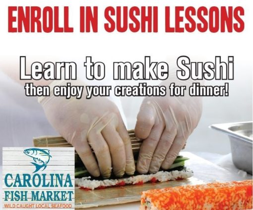Sushi Classes from the Carolina Meat & Fish Co
