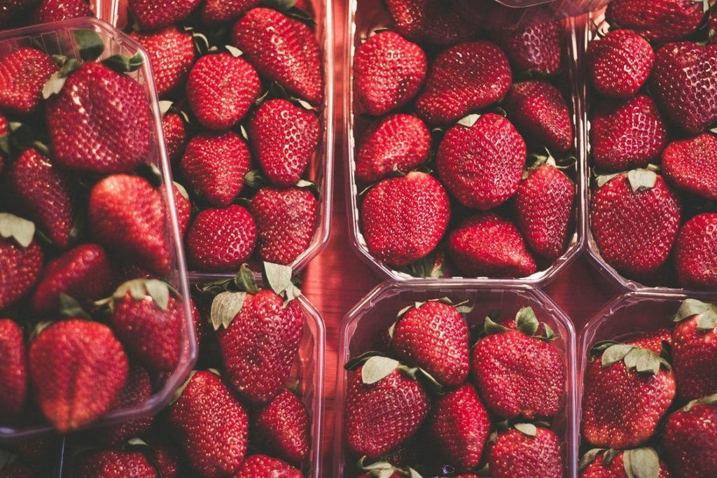 Fresh Strawberries from South Carolina
