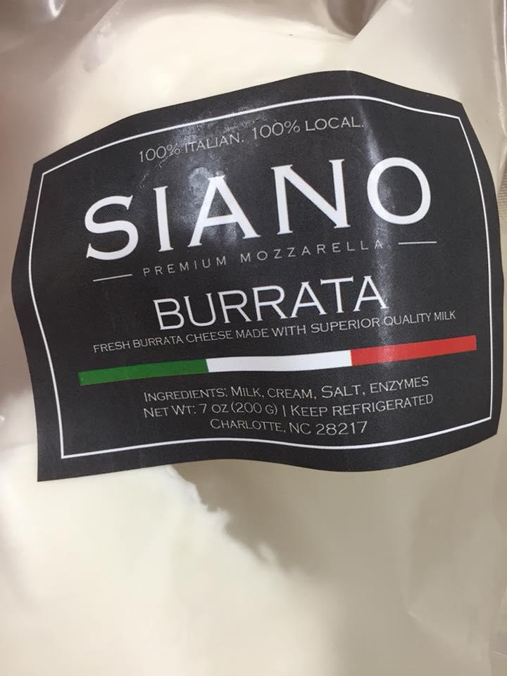 Siano Burrato Cheese