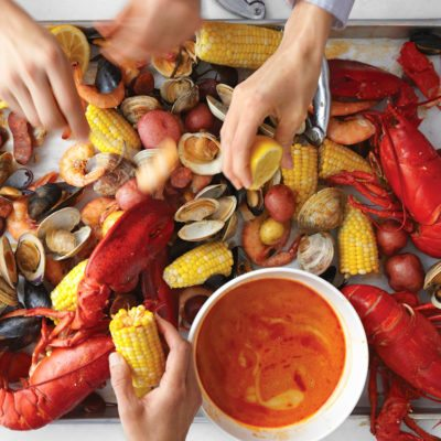 Charlotte steamer pot low country boil at home for Fish market charlotte